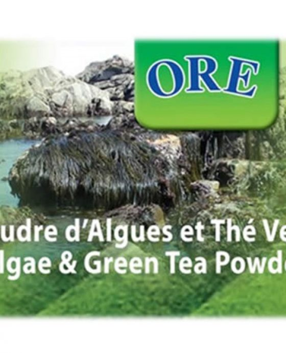 ore-algae-green-tea-powder