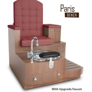 Gulfstream-Paris-Single-Bench_Hollyhock_withUpgradeFaucet