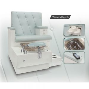 Luxury Pedicure Bench