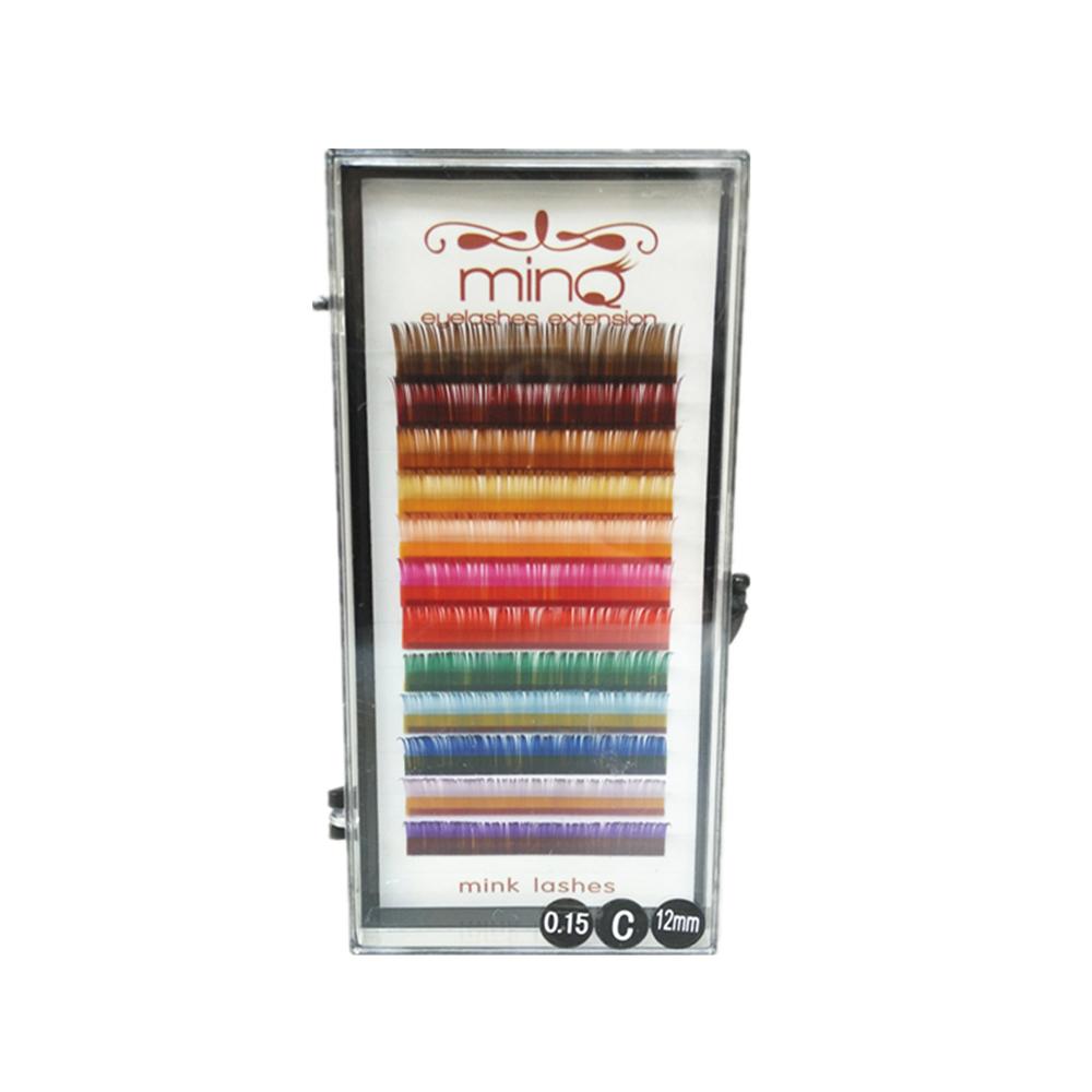 2895d05f984 MINQ Mink Lashes C Curl 0.15 mm (Rainbow Colour) - Fernanda's Beauty ...