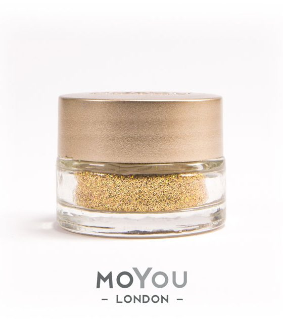 Moyou-016-Buried-Treassure-glitter-nail-art