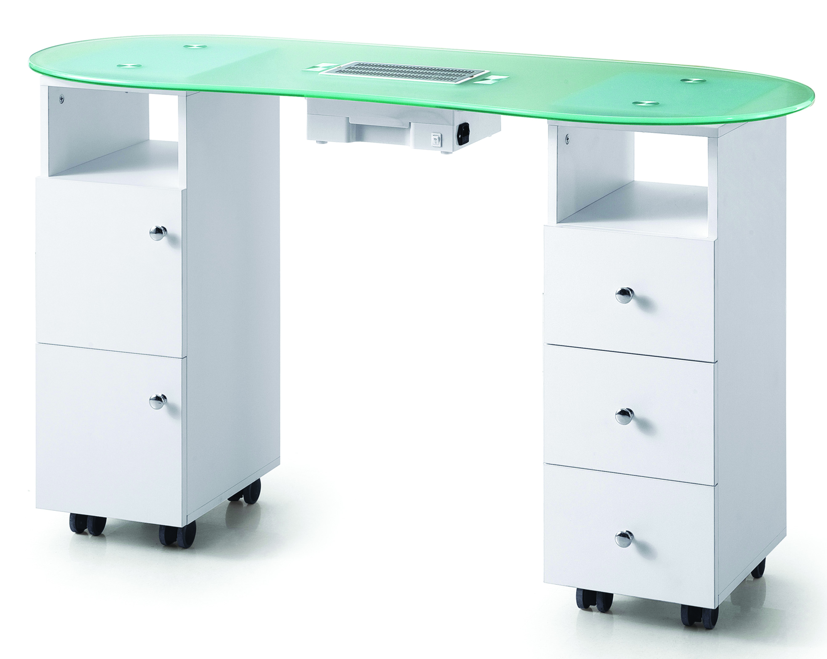 Fe 3468 Manicure Table With Vent Fernanda S Beauty Amp Spa