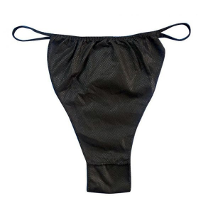 black-thong