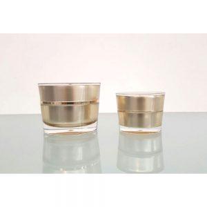 Cream-Jars--Gold
