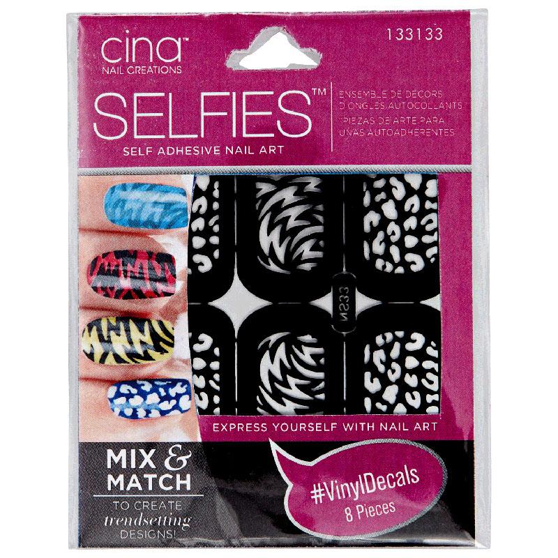 Cina Selfies Self Adhesive Nail Art No 133133 Fernanda S Beauty Spa Supplies