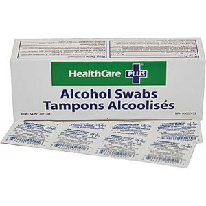 alchol swabs