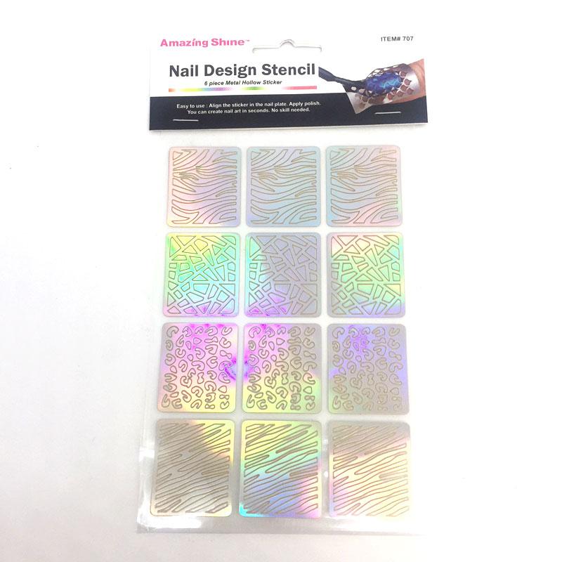 Nail Design Stencil 707 Fernanda S Beauty Amp Spa Supplies