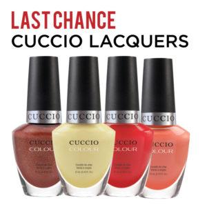 Last Chance Cuccio Lacquer